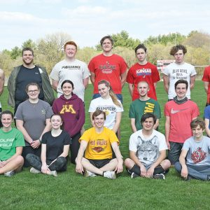 THE 2021 COLFAX boys' and girls' track squad
