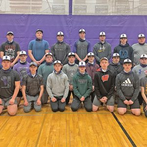 2021 Boyceville Baseball team photo