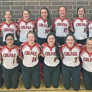 2021 Colfax Softball team photo