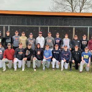 THE 2021 ELK MOUND High School Baseball Team
