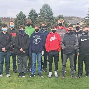 Colfax Elk Mound Golf team photo 2021