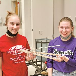BV Science Olympiad Lacota Brown and Madison Andrews