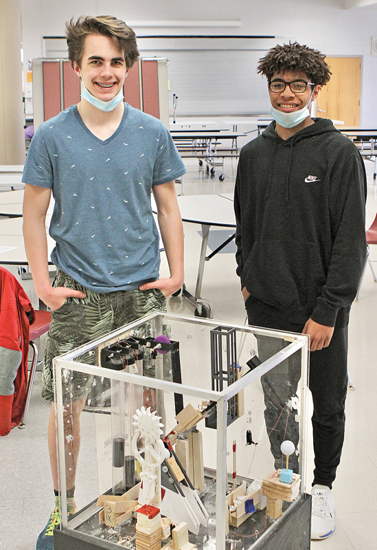 BV Science Olympiad Peter Wheeldon and Caden Wold