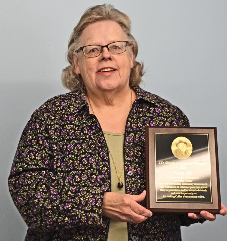 Susan Hill JD Simons Award 2021
