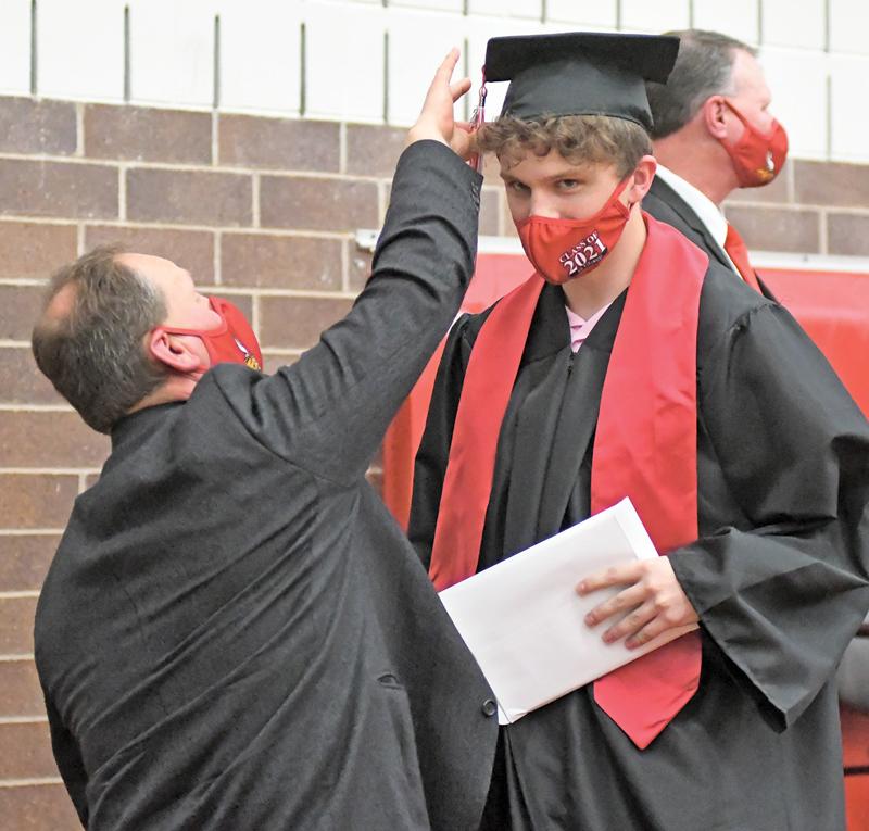 2021 Colfax Graduation Tanner Hoffman