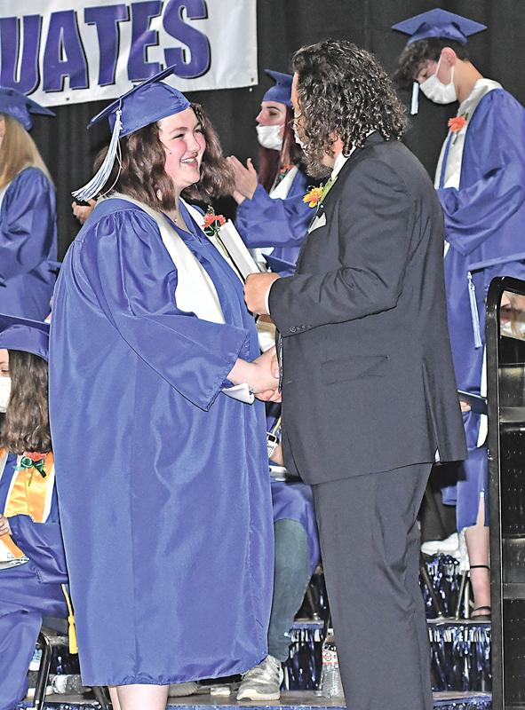 2021 Glenwood City Graduation Jordana Shervington