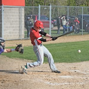 Colfax baseball vs Boyceville Bryce Sikora
