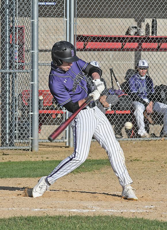 Colfax Baseball vs Boyceville Connor Sempf