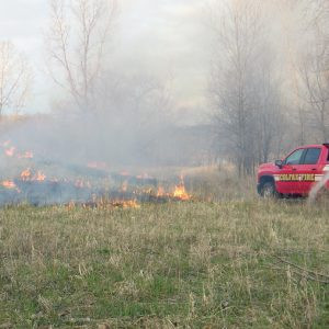 Ferry Pit Controlled Burn 3 April 2021