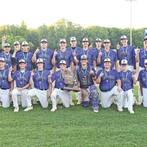 BV BB State Champions group photo