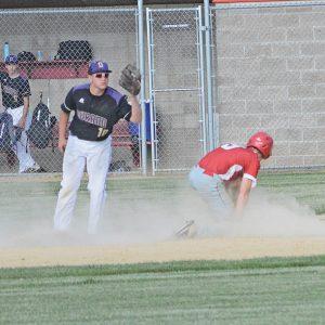 Colfax baseball Caden Erickson