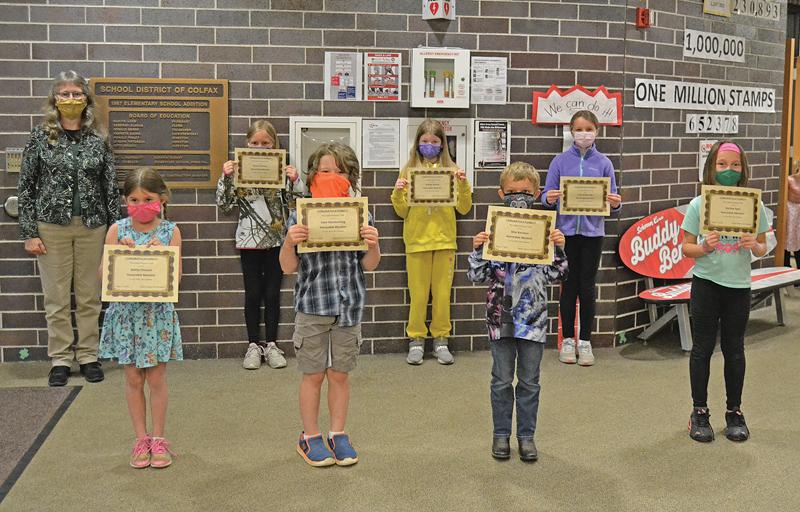 Colfax Womans Club art contest Stephanie Ulcej's art classes