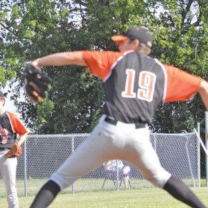 Elk Mound baseball Kaden Russo