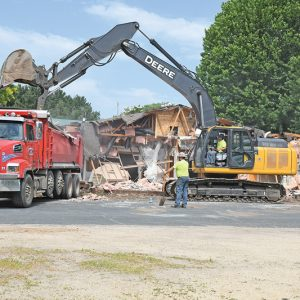GC Community Center razed