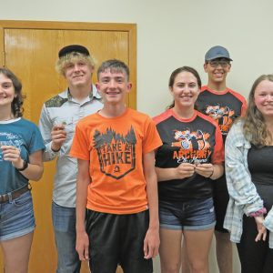 2021 Elk Mound Archery letterwinners