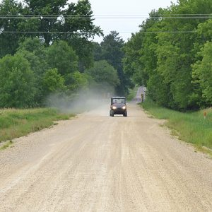 800 FEET — The Town of New Haven has spent nearly $60,000 fixing 800 feet of 1330th Avenue so the road would not flood every spring, and now the state Department of Natural Resources wants the town to put the road back the way it was. — Photo by LeAnn R. Ralph