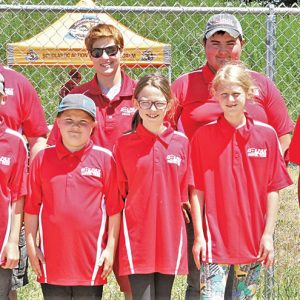 Colfax Scholastic Action Shooting Team members at state match