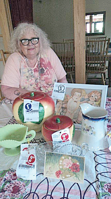 Havenwood was also represented at the St. Croix County Fair by Lois Kilde, who entered a lot of her antiques. —photo submitted