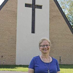 VICKY STRUPP — The new Methodist Minister for the Boyceville, Wheeler, and Prairie Farm churches. —photo by Missy Klatt