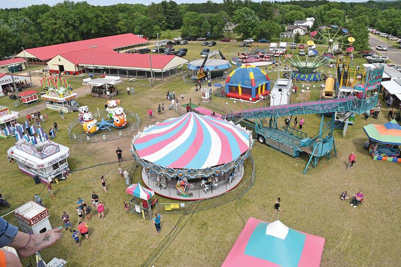 2019 Colfax Free Fair Aerial Photo