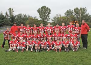 2018 Colfax and EM Middle School Fall athletes