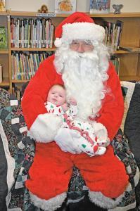2018 Santa visit to GC Library