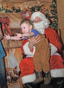 Santa at Jack's Place Barstad