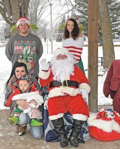 Santa in Emerald Park Skjerly
